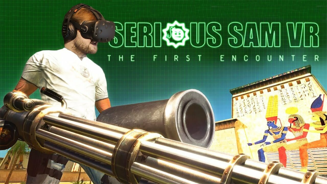Serious Sam VR: The First Encounter и Serious Sam VR: The Second Encounter (2 части)